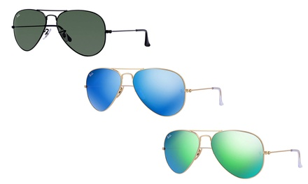 f17a045cf On sale! RayBan Aviators Sunglasses in Choice of Designs AED