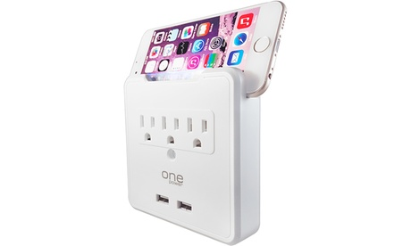 3-Outlet Dual-USB Wall Tap with Built-in Phone or Tablet Stand 5821ccd2-8dde-11e7-9f2c-002590604002