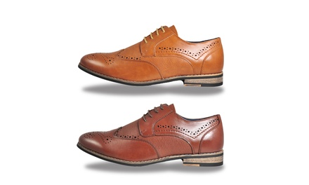Mens Vintage Leather Brogues