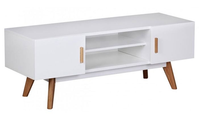 mueble de tv moderno estilo escandinavo groupon goods