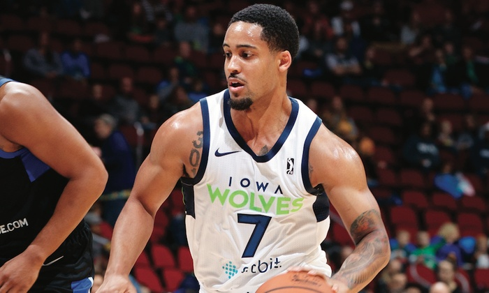 Iowa Wolves - Wells Fargo Arena: Iowa Wolves Basketball on Friday, February 23, at 7 p.m.
