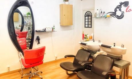 Sesión de peluquería con lavado y corte con opción a alisado en Lovely Hair