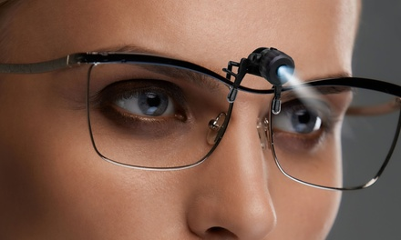 Bright Basics Universal Clip-On LED Glasses Light (2-Pack)