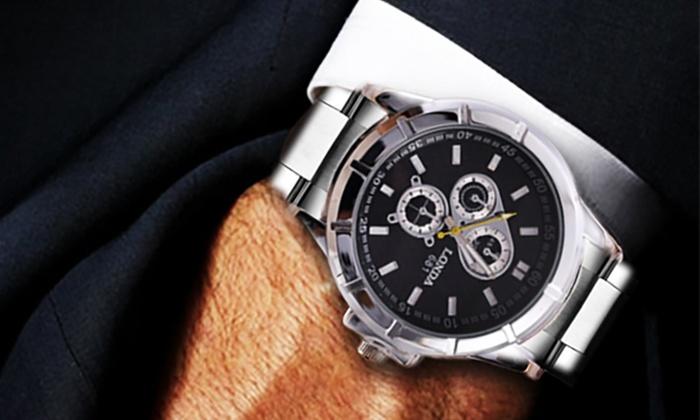 Londa Steel Series Men's Watch