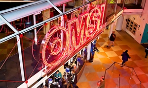 OMSI: One-Year Membership for Two Adults or a Family at OMSI (Up to 42% Off)