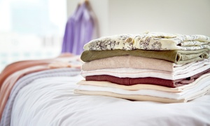 Discount Laundry: Standard/Queen Comforter Cleaning or Full-Service Cleaning for 20 Pounds of Laundry at Discount Laundry (Up to 48% Off)