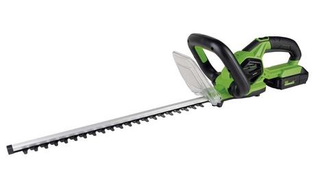 Cortasetos a batería con espada de 51 cm