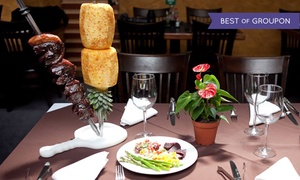 37%  Off Dinner or Lunch at Cleo's Brazilian Steak House at Cleo's Brazilian Steak House, plus 9.0% Cash Back from Ebates.