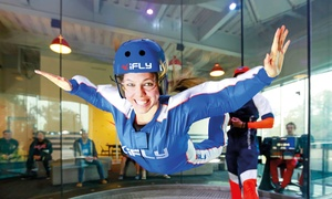 iFLY: Indoor Skydiving Experience Including Two Flights at iFLY, Three Locations (Up to 59% Off)