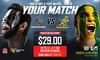 Barbarians v Wallabies  - Allianz Stadium: Barbarians Rugby Club v Qantas Wallabies Tickets from $29 - 28th October at Allianz Stadium (Save up to 15%)