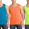 Urban Port and Company Men's 100% Cotton Tank Tops (3-Pack)