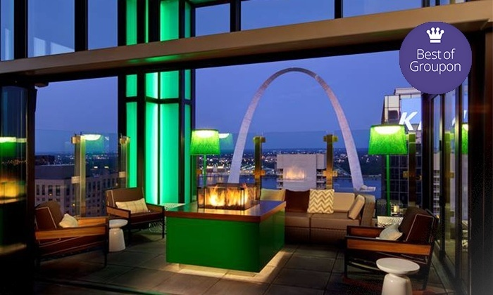 360 St. Louis - Hilton at the Ballpark: Cocktails and Upscale Bar Food at 360 St. Louis (Up to 54% Off). Three Options Available.