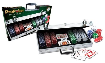 Mallette de poker en aluminium à 300 jetons