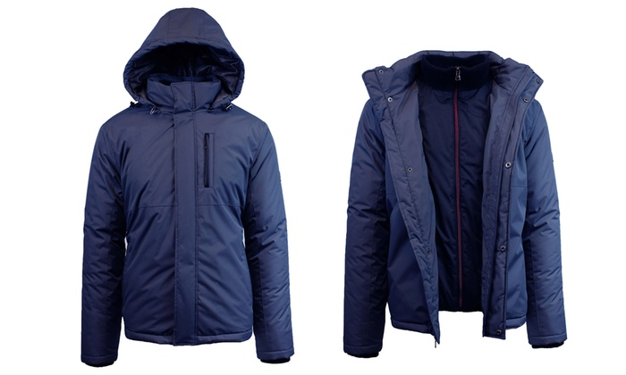 7e9d4064d39 Up To 72% Off on Spire By Galaxy Men's Jackets | Groupon Goods