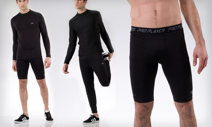 ProPlayer Men's Compression Wear: ProPlayer Men's Compression Wear (Up to Half Off). Multiple Sizes and Styles. Free Shipping on Purchases of $15 or More.