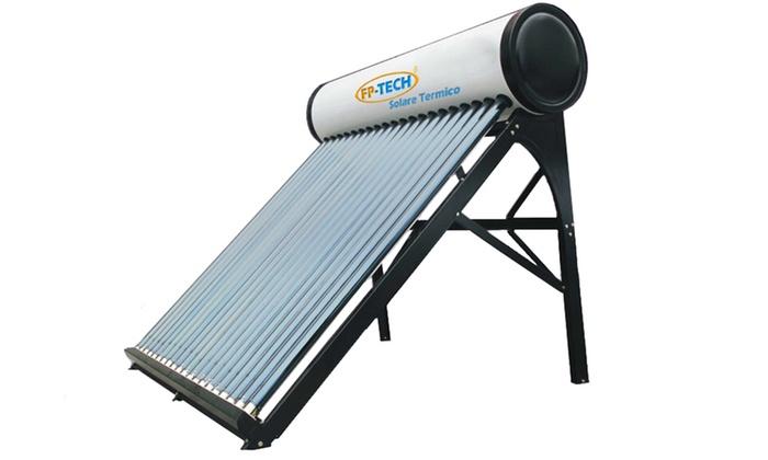 Pannello Solare Termico Non Pressurizzato : Pannello solare termico groupon
