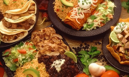 Mexican Meal with Cocktails for Two or Four at Los Banditos