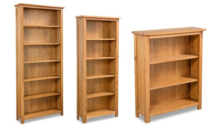Beste Eikenhouten boekenkast | Groupon SA-17