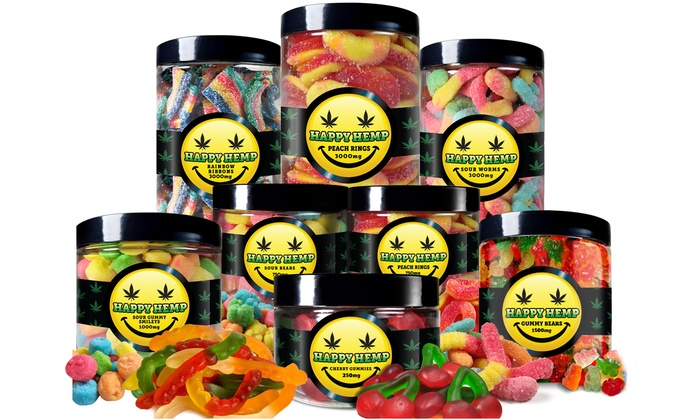 CBD Gummies from Happy Hemp | Groupon