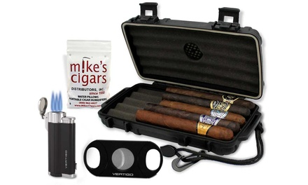 Nine-Piece Cuban Christmas All-in-One Cigar Bundle Kit from Mike's Cigars(43% Off)