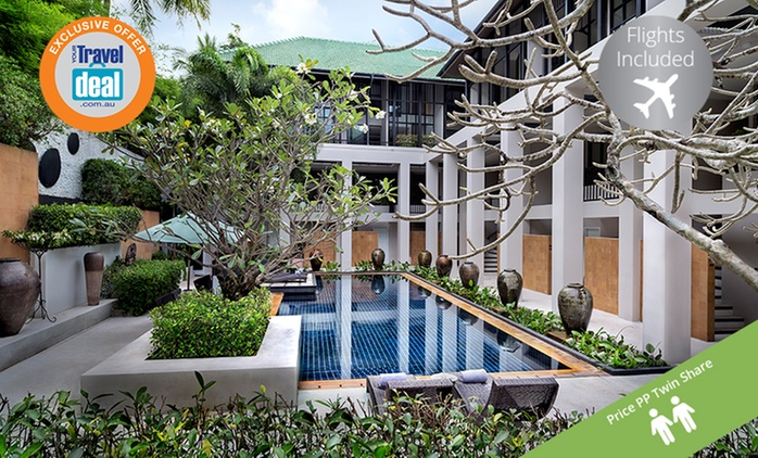 Thailand, Phuket: 7-Night Stay in a Deluxe Pool Access Room or Surin Room with Flights + Meals at Manathai Surin Phuket