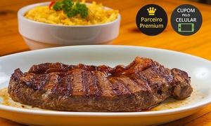 Churrascaria Boi na Brasa: Churrascaria Boi na Brasa – Vila Buarque: almoço ou jantar com prato principal para 2 pessoas