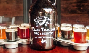 37%Off Beer Samplers atBlue Tractor BBQ & Brewery at Blue Tractor BBQ & Brewery, plus 6.0% Cash Back from Ebates.