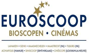 Cinescope: 2 bioscooptickets met Popcorn & 2 Softdrinks bij Euroscoop Bioscopen - Cinémas voor  € 19,99