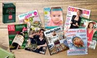 Vos magazines préférés à partir de 12€, abonnez-vous vite !