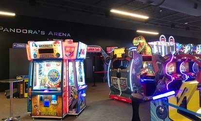 image for <strong>Amusement</strong> and Games at Revel & Roll West (Up to 43% Off)