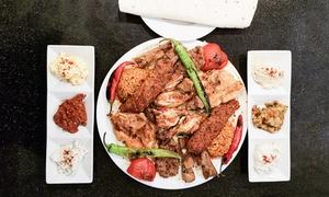 Elida Ocakbaşı Restaurant Orginal: Türkische XXL-Grillplatte für zwei oder vier Personen im Elida Ocakbaşı Restaurant Orginal (53% sparen*)