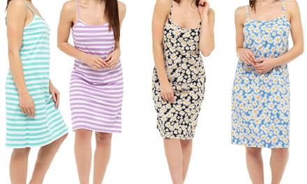Printed Cotton Sleep Dress