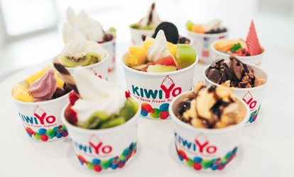 Credit: $6.50 for $10 for 1, or $12.90 for $20 for 2 People, or $9.50 for 2 Sundaes (Up to $14 Value) at KiwiYo Takapuna