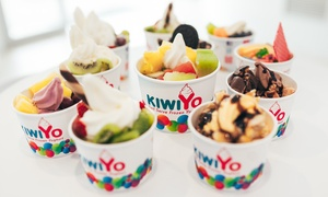 KiwiYo Takapuna: Credit: $6.50 for $10 for 1, or $12.90 for $20 for 2 People, or $9.50 for 2 Sundaes (Up to $14 Value) at KiwiYo Takapuna