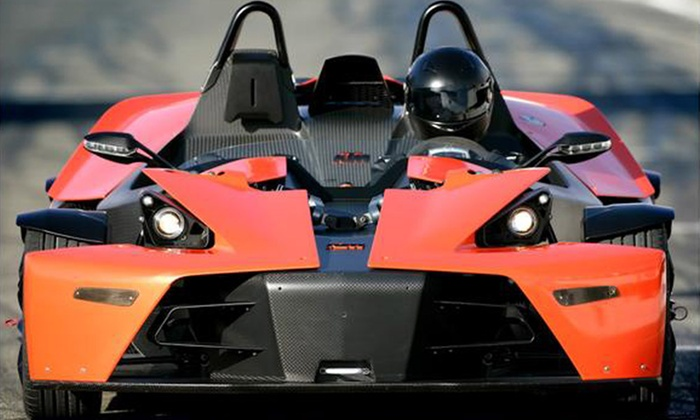 Padborg Park - Padborg: Kør tre eller seks runder i KTM X-Bow-racerbil fra 700,- i Padborg Park