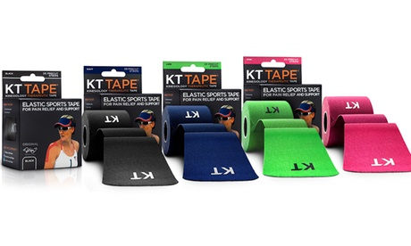 KT Tape Pain-Relief and Support Tape (20-Strip Pack)