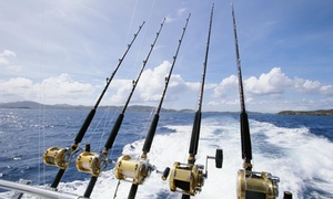 Captain Santos Charter: Eight-Hour Fishing Trip with Optional Meal from Captain Santos Charter (20% Off)