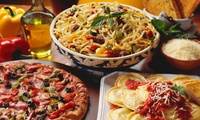 Pizza or Pasta for Two or Four at Hands in Pasta Restaurant (Up to 49% Off)