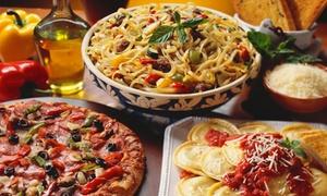 Ristorante & Pizzeria Albero D'Oro: Pizza oder Pasta All-you-can-eat für 2 oder 4 Personen (bis zu 76% sparen*)