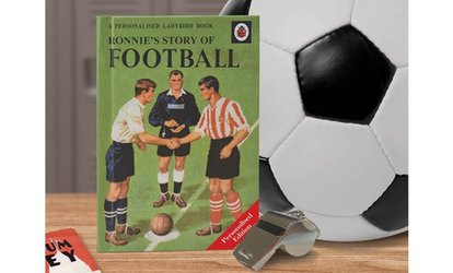 The Story of Football Ladybird Personalised Book from I Just Love It (54% Off)