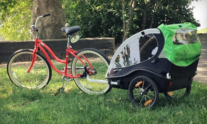 Wheel Fun Rentals - Multiple Locations: Half-Day City Bike Rental or $15 for $30 Worth of Rentals at Wheel Fun Rentals