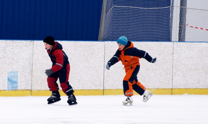 AZ Ice - Gilbert: One-Week Kids' Ice-Skating and Activities Camp at AZ Ice (37% Off). Five Options Available.