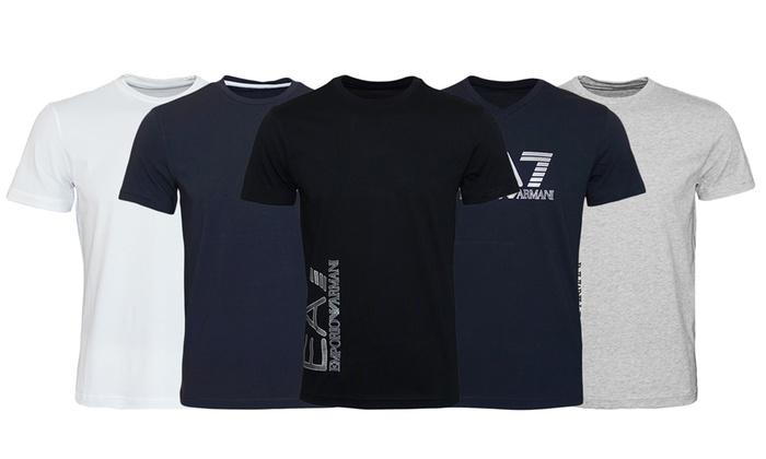 Jusqu à 27% T-shirts homme Emporio Armani   Groupon 8b2343965b2