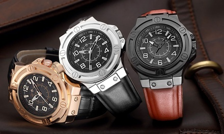 Timothy Stone Men's Manis Collection Watch: One $34 or Two $55 Don't Pay up to $1000.66
