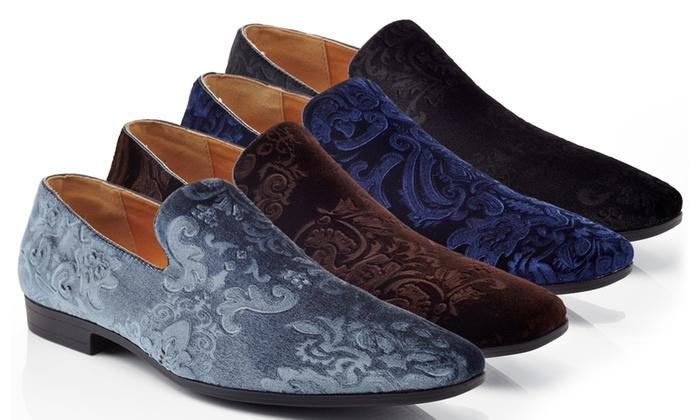 Henry Ferrera Men S Slip On Dress Shoes