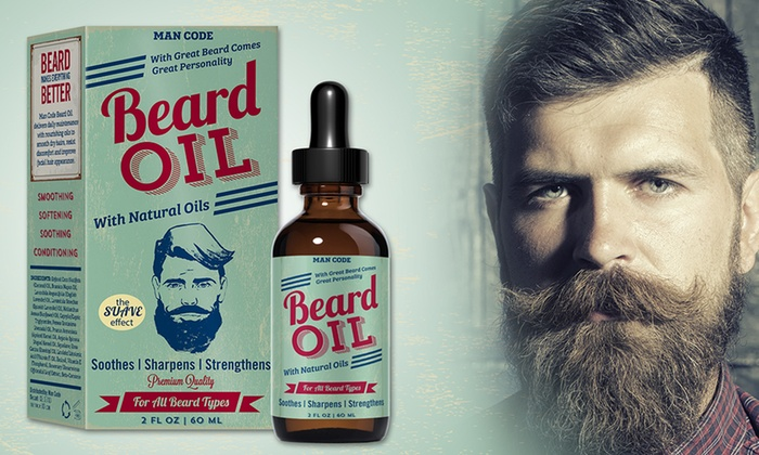 man code suave effect beard oil groupon goods. Black Bedroom Furniture Sets. Home Design Ideas