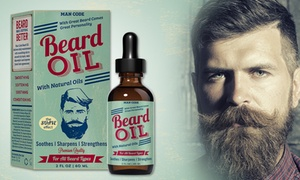Man Code Suave Effect Beard Oil (2 Fl. Oz.)