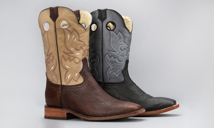 c7575d5a062 Up To 70% Off on Genuine Leather Men's Boots | Groupon Goods