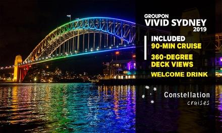 Constellation Cruises: 90Min Vivid Cruise: MonTue $25, WedFri $30, SatSun $35 Up to $50 Value