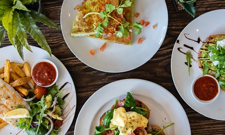 AllDay Breakfast or Lunch with Tea or Coffee $12, 2 $24 or 4 People $48 at Rom & Co Up to $94 Value